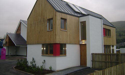 New Build - First Welsh Passive House National Eisteddfod of Wales Visitors Centre, Ebbw Vale